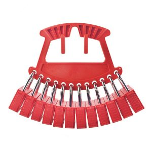 Hand Carring Nylon Safety Lockout Padlock Rack Supplier in Bangladesh